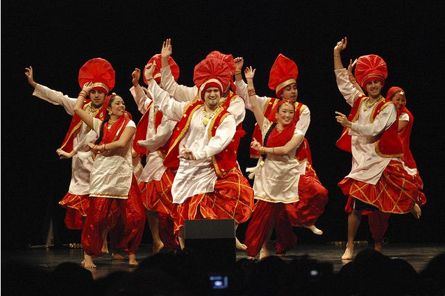 how to bhangra dance steps