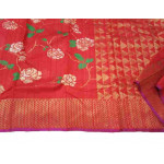 Tussar Silk Chanderi Saree (GP2645)