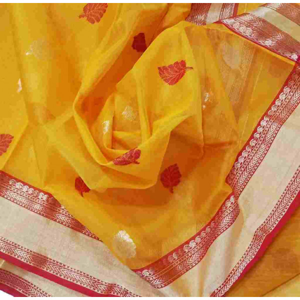 Chanderi Saree (GP2665)