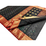 Pure Kataan Silk Chanderi Saree (GP2675)