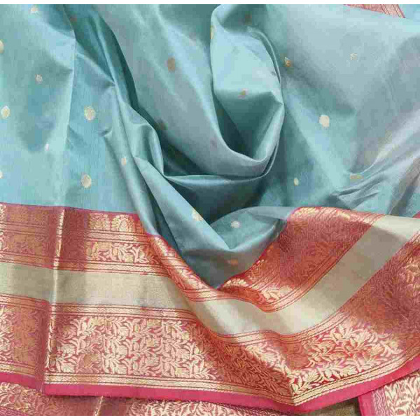 Pure Pattu Silk Chanderi Saree (GP2687)