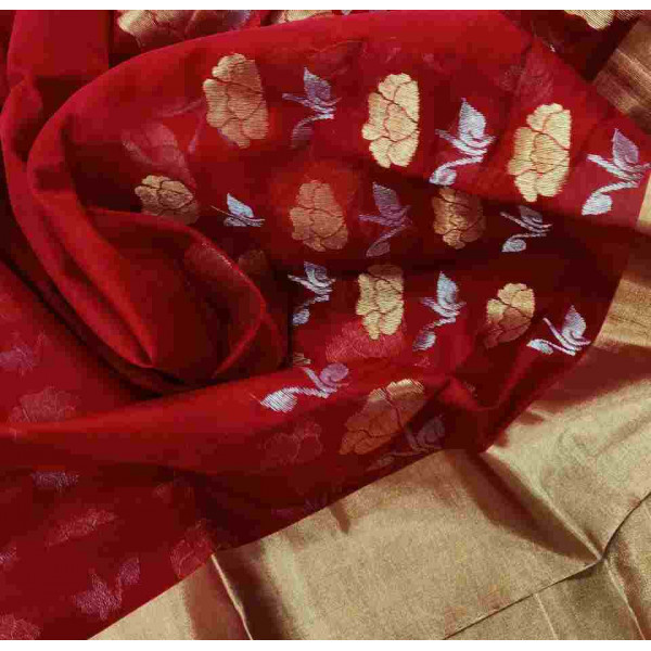 Chanderi Saree (GP2688)