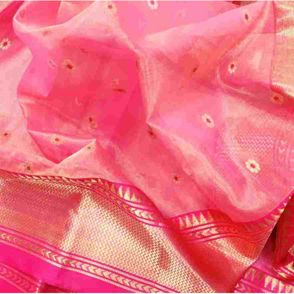 Tissue Chanderi Saree (GP2700)