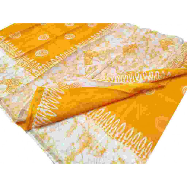 Block Printed Chanderi Saree (P002)