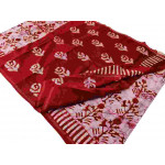 Block Printed Chanderi Saree (P006)