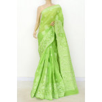 Cotton Lucknowi Chikankari Saree (LCK4801)