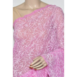 Georgette Hand Embroidered Chikankari Saree with Blouse (LCK4882)
